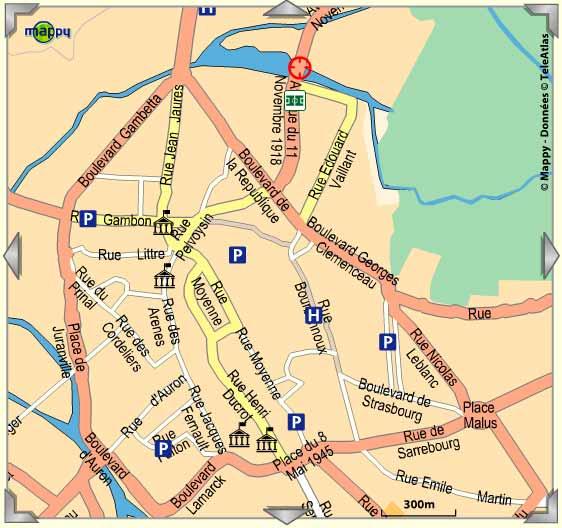 Appartement Type F1 Centre Ville De Bourges 380 Par Mois